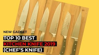 Top 10 Best Kitchen Knife 2019 (chef's knife)
