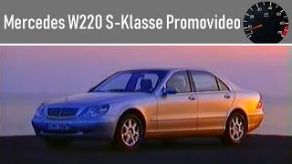 """""""Die S-Klasse. Erleben, kennenlernen, erforschen."""" W220. Ein Promovideo der Daimler AG von 1998"""