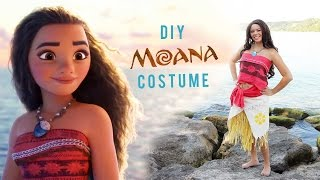 DIY DISNEYS MOANA COSTUME | THE SORRY GIRLS