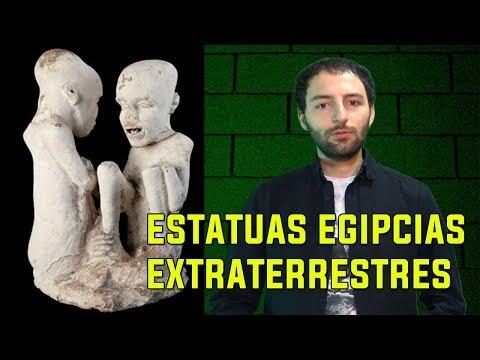 Trovate statue extraterrestri in Egitto?