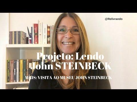 Projeto: Lendo John Steinbeck #projetolendojohnsteinbeck