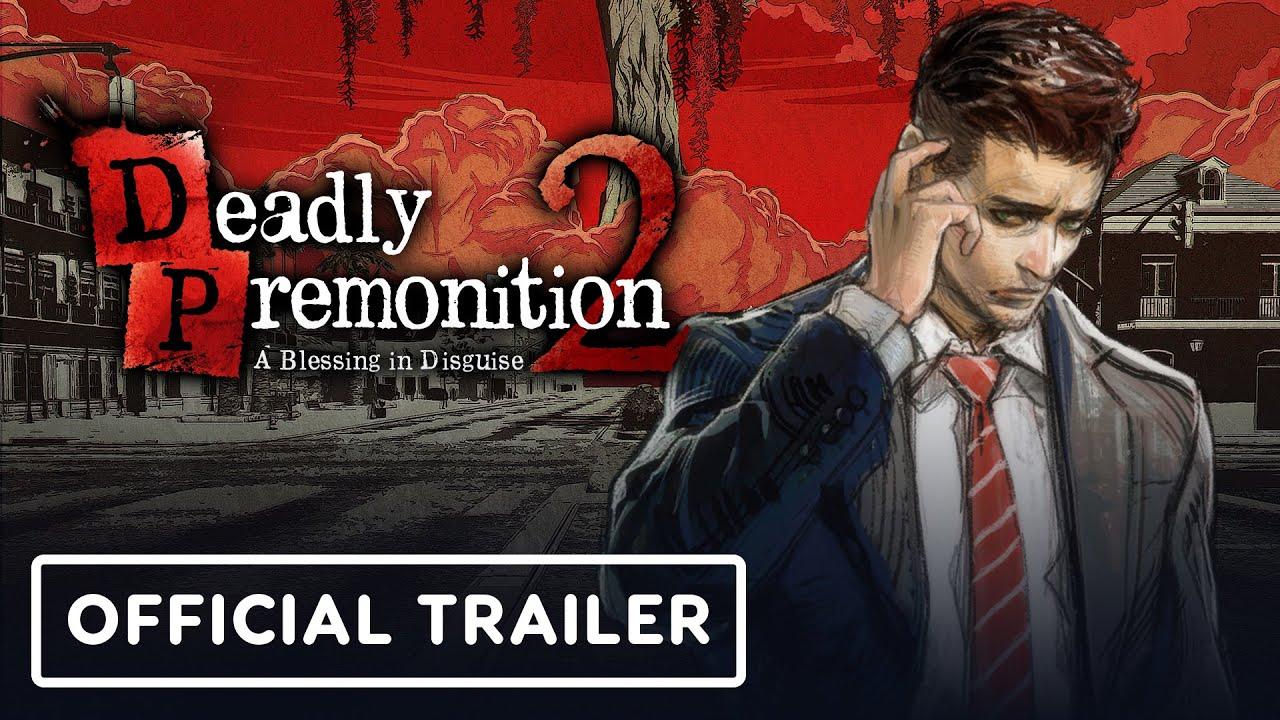 Обложка видео Релизный трейлер игры Deadly Premonition 2: A Blessing in Disguise
