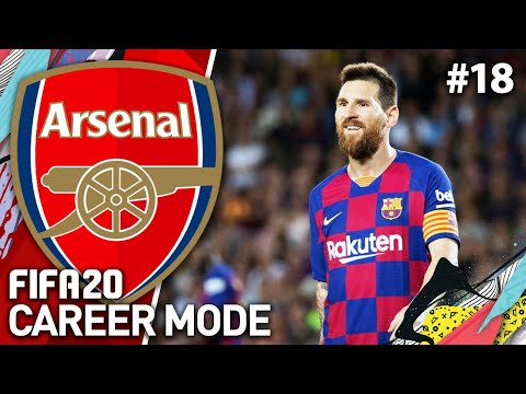 AWAY TO BARCELONA! | FIFA 20 ARSENAL CAREER MODE #18