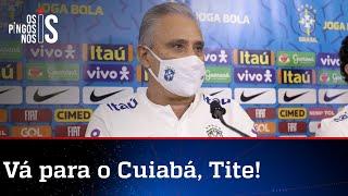 Apesar da militância de Tite e da hipocrisia da Globo, seleção vai disputar a Copa América