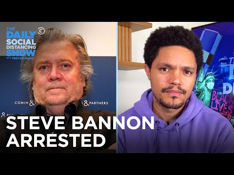 In Other News: Bannon Gets Indicted & Mosquitos Get What's Coming |The Daily Social Distancing Show