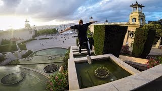 GoPro: Freerunning Barcelona's Palace Fountain S...