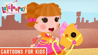 Horse Race | Compilation | Lalaloopsy | Cartoons For Kids