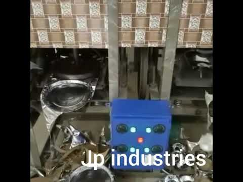 Fully Automatic Double Die Patravali Making Machine