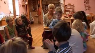 Один день дошкольного отделения Московской Вальдорфской школы 1060