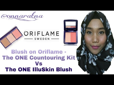 Review The ONE IlluSkin Blush VS The ONE Countouring Kit