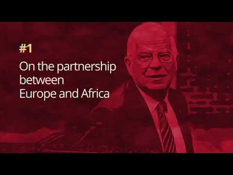 HR/VP's Vlog   #01 On the partnership between Europe and Africa