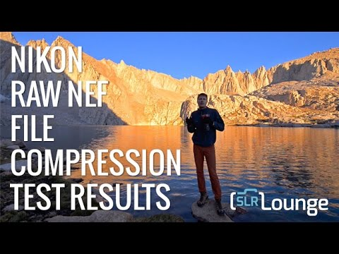 Nikon NEF Raw File Compression Quality Tests