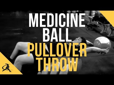 Medicine Ball Pullover Throw (with partner)