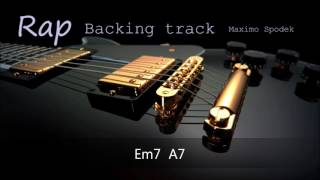 RAP, BACKING TRACK IN Em 96 bpm