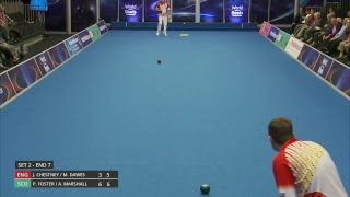 Just. 2019 World Indoor Bowls Championships: Day 2 Session 3