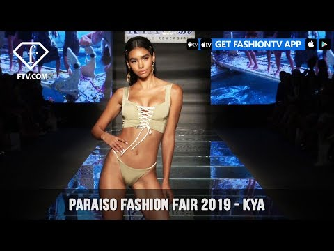 KYA Swim - Paraiso Fashion Fair 2019 | FashionTV | FTV