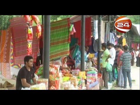 ব্রাহ্মণবাড়িয়ার 'সীমান্ত হাটে' চলছে অসম বেচাকেনা