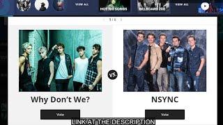 [Round 1 Result] Billboard Boy Band Battle 2020 Which Boy Band Is The Best? Round 2 Voting