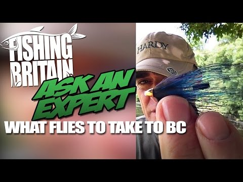 What fishing flies to take to British Columbia