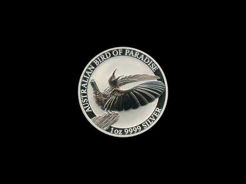 Video - 1 oz Silber Australian Bird of Paradise - 2018