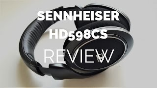 Review: Sennheiser HD598CS Closed Headphones (Compared to HD598 Open)