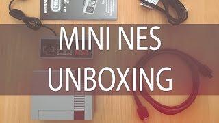 Unboxing de la Mini NES