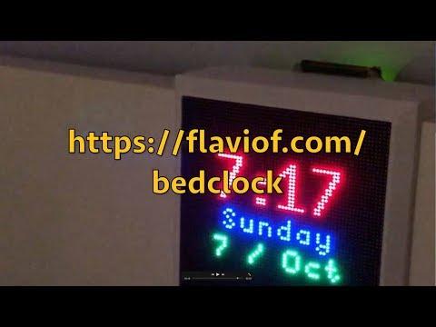 Bedclock Demo