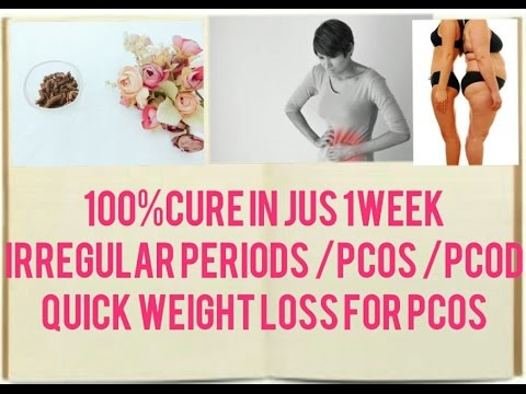 Home remedies to cure PCOD / PCOS Fast in tamil | Quick