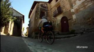 preview picture of video 'Somontano, Balade VTT (Aragon, Espagne), été 2011'