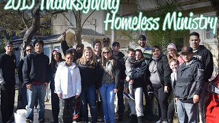 2015 Homeless Ministry
