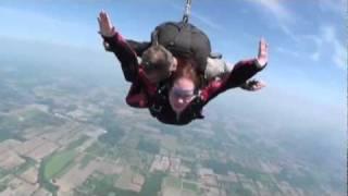 Stephanie Auch Sky Dive