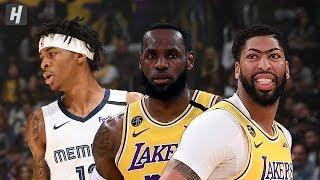 Memphis Grizzlies vs Los Angeles Lakers - Full Game Highlights | Feb 21, 2020 | 2019-20 NBA Season