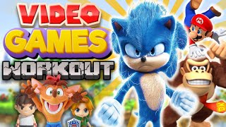 Videogames work out  / Kids workout video /PE At Home | Open Physed / PE Distance Learning At Home