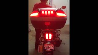 Triumph Explorer, Givi V46 & Admore Lighting