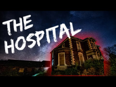 Scary Abandoned War Hospital (TRAPPED INSIDE AT NIGHT)