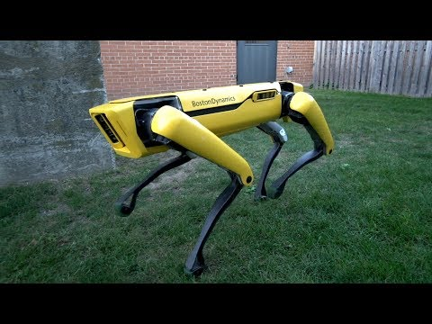 Resist The Urge To Pet Boston Dynamics' Newest Robodog