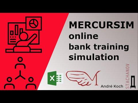 Mercursim online bank training simulation. - YouTube