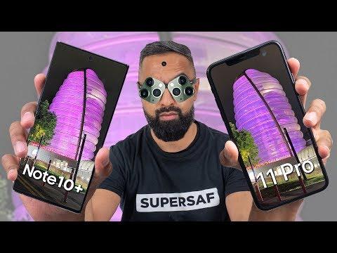 iPhone 11 Pro Max vs Galaxy Note 10 Plus Camera Test Comparison
