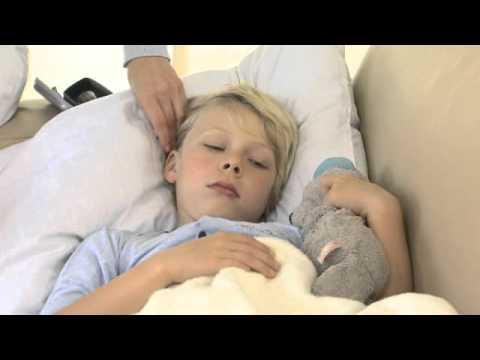 Das Präparat für die Kinder von den Würmern