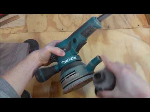 Makita BO5041 5″ Random Orbital Sander Review
