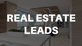 How To Get Real Estate Leads For Realtors
