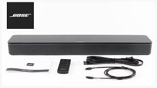 Bose TV Speaker – Unboxing + Setup