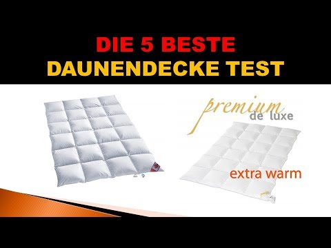 Beste Daunendecke Test 2019