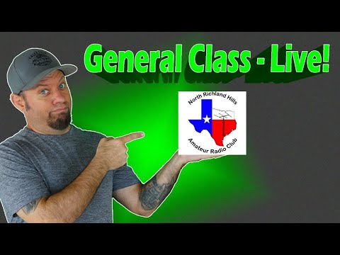 Ham Radio General Class License Course Livestream - Get Your Upgrade!
