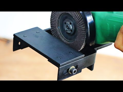 Make A Angle Grinder Attachment || Angle Grinder Hack