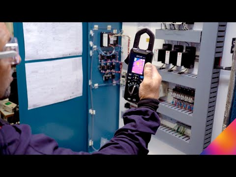 FLIR CM275 IGM™ Clamp Meter with Datalogging and Wireless Connectivity