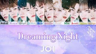 【JO1】Dreaming Night パート割り/ ENG