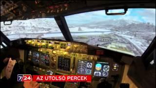 A repülőgép-katasztrófa utolsó percei