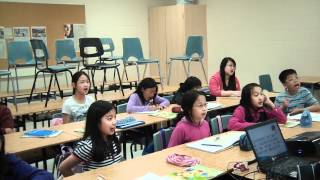 Mother's Day song with music from ARK Chinese School