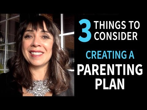 3 THINGS to ASK When NEGOTIATING A PARENTING PLAN